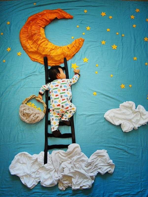 bambino creativo