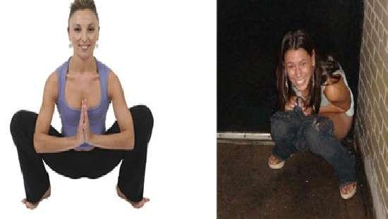 Ubriachi e yoga foto divertenti