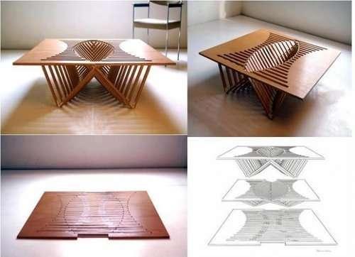 Idee geniali del giorno 60 foto - Tavolino porta microonde ...