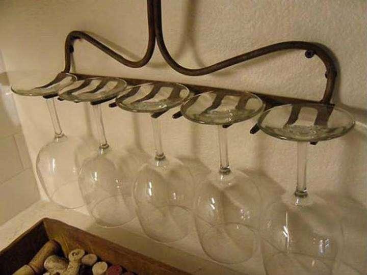 rastrello porta bicchieri
