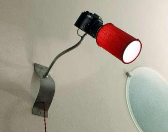 lampadina con un barattolo