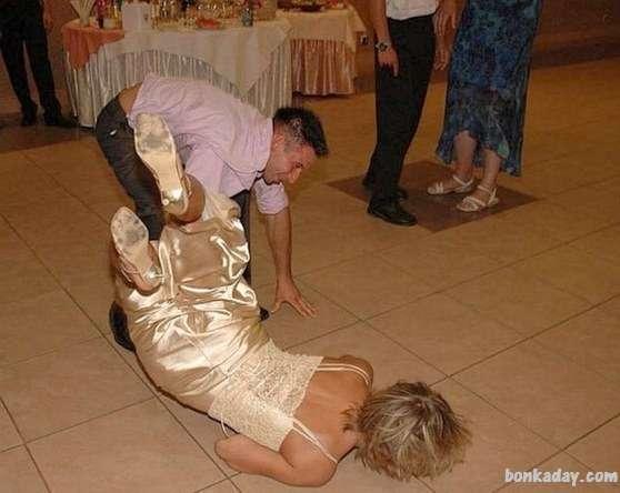 cadute durante il ballo