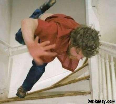 cascare dalle scale