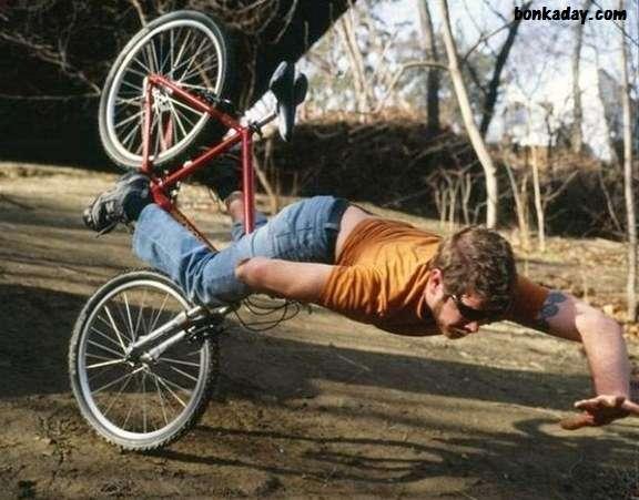 cadute in bici