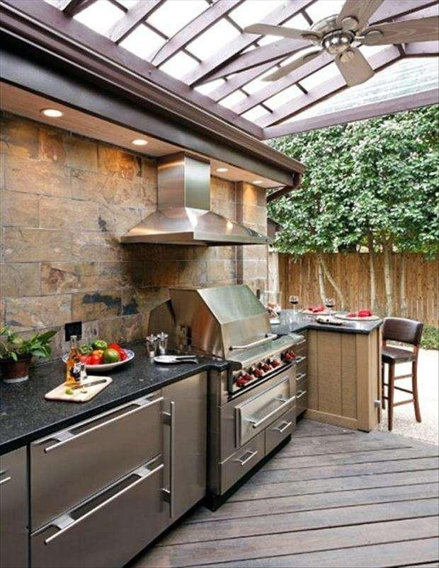 Idee design cucine all 39 aperto 30 foto for Idee cucine