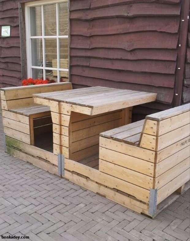 Idee riciclo bancali 26 for Riciclo bancali legno