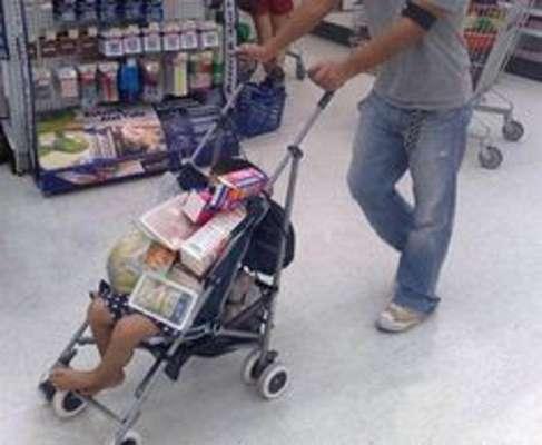 Risultati immagini per immagini buffe supermercati