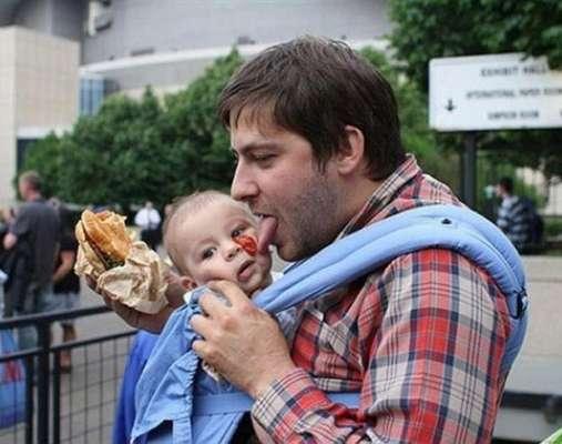 Non lasciare i figli soli con il padre