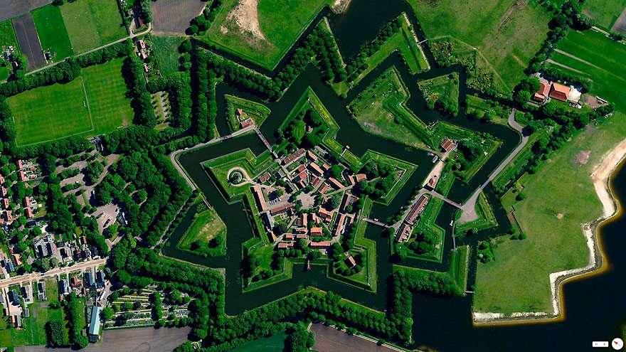 Foto satellitari dall'alto