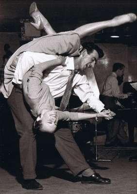 Scena suggestiva durante un gara di ballo