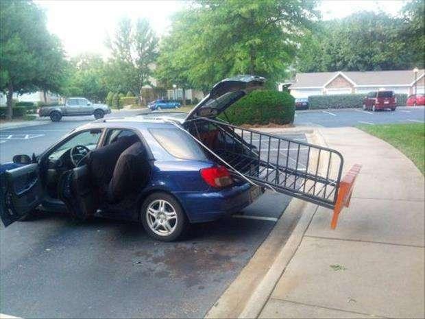 Trasporti divertenti in auto