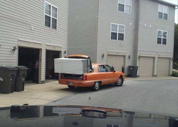 Come trasportare un frigorifero in macchina