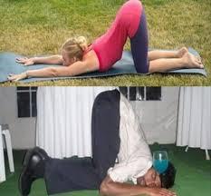 Ubriachi in posizioni da Yoga (1)