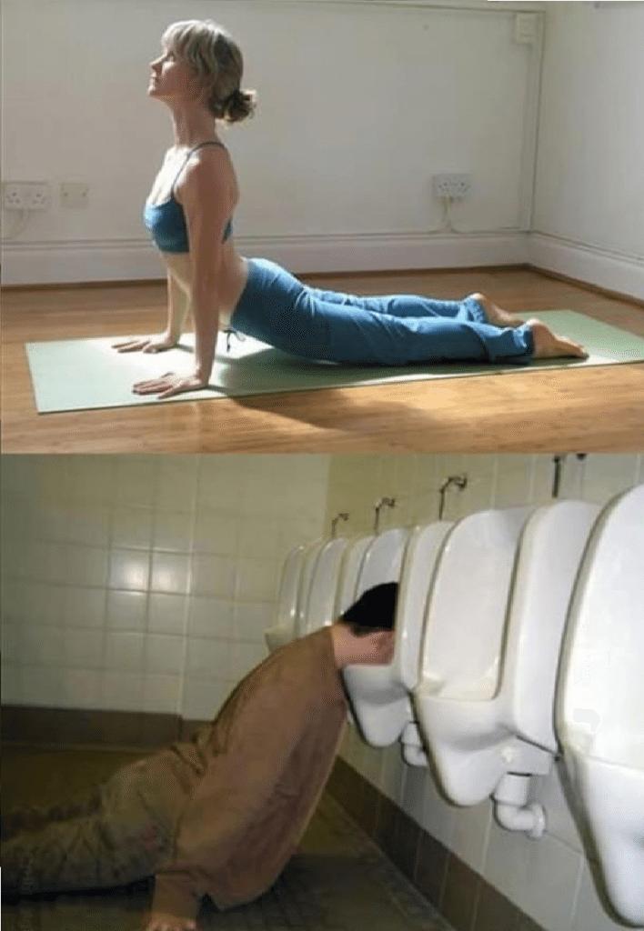 Ubriachi in posizioni da Yoga (6)