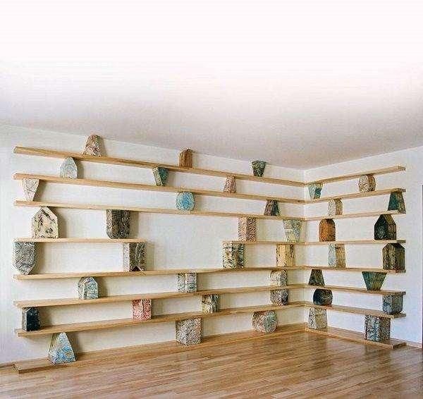 Fai da te idee creative per la casa 35 foto - Parete in legno fai da te ...