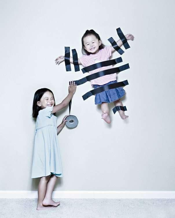 divertirsi con i propri bambini con la creatività