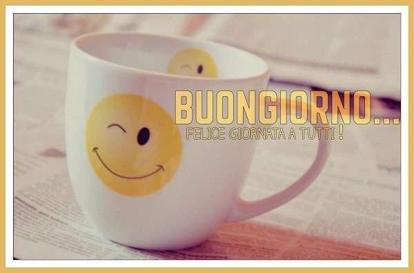 Buongiorno - Felice giornata a tutti #Smile #Sorriso