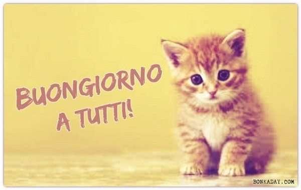 """Favoloso Immagini """"Buongiorno!"""" (52 Foto) XK74"""