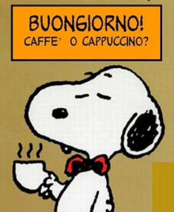 Buon Giorno con Snoopy