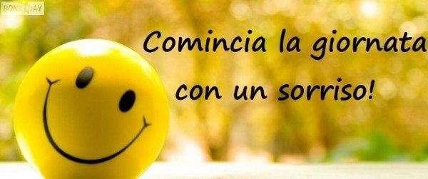 Buongiorno! Comincia la giornata con un sorriso