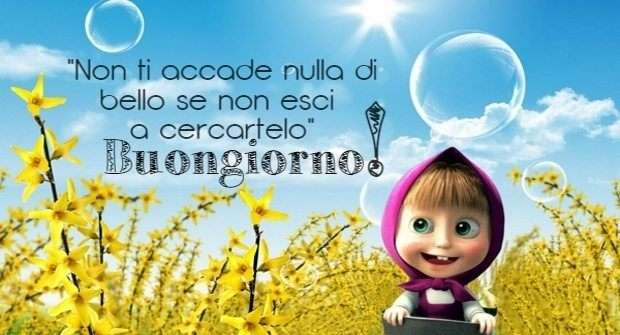 """Exceptionnel Immagini """"Buongiorno!"""" (52 Foto) MV06"""