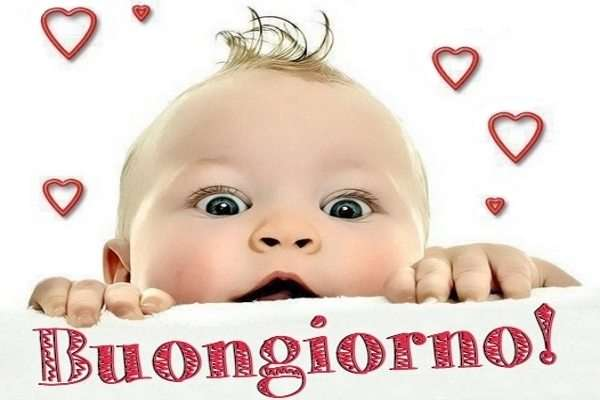 Buongiorno a tutti con bimbi/bambini