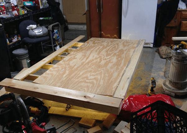 Costruire un letto a scomparsa il divano boston ad - Costruire un letto a scomparsa ...
