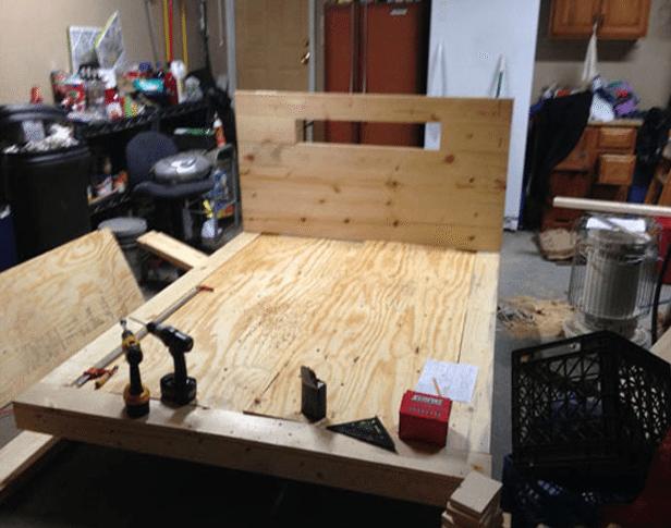 Costruire Un Letto In Legno Massello : Come costruire un soppalco in legno fai da te. perfect letto