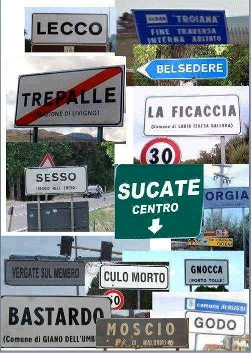 nomi paesi d'italia buffi e divertenti