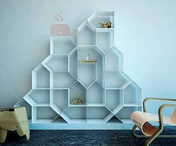 Mensole ripiani e librerie creative 40 foto for Bellissimi disegni per la casa