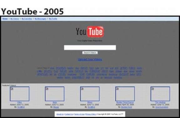 Ecco come erano i siti web pi famosi alle origini 12 for Siti architetti famosi