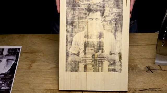 Come stamopare Fotografie sul legno