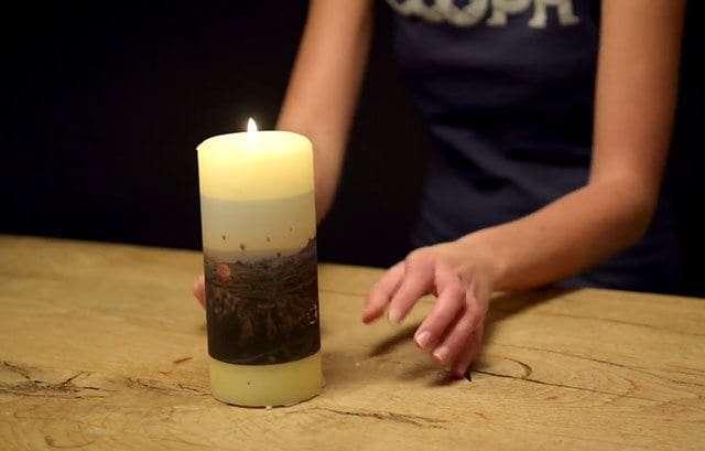 fotografie su candele