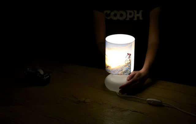 idee regalo fotografie su lampade