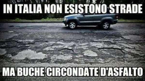 Frasi divertenti - in Italia e le buche (FILEminimizer)