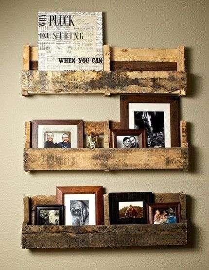 idee fai da te con il legno (35 foto-progetti) | bonkaday.com - Mensole Con Assi Di Legno