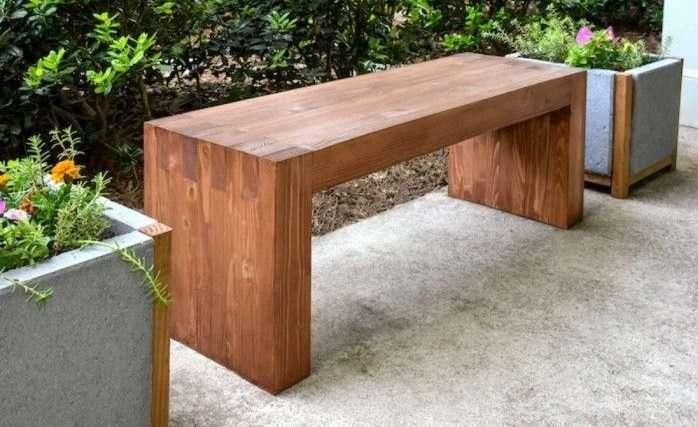 Costruire Un Tavolo Da Giardino In Legno.Idee Fai Da Te Con Il Legno 35 Foto Progetti Bonkaday Com