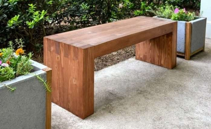 Idee fai da te con il legno 35 foto progetti - Costruire tavolo in legno ...