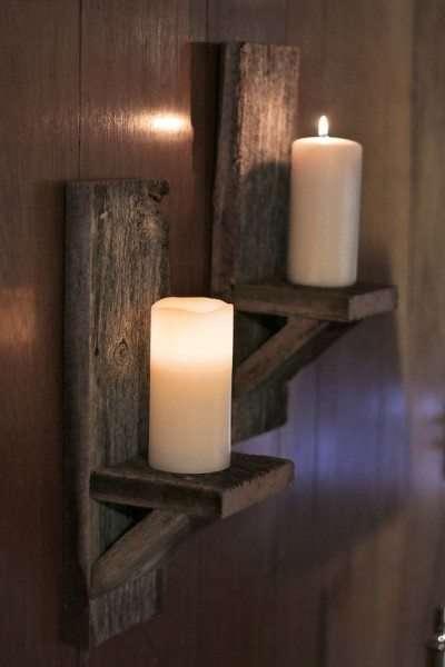 Idee fai da te con il legno 35 foto progetti for Ikea portacandele