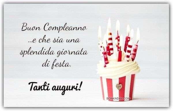 Favoloso Frasi e Immagini di Buon Compleanno (+50 Foto) | Bonkaday.com LE31