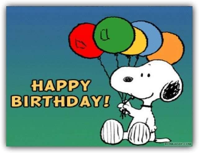 45 Best Buon Compleanno Immagini Snoopy