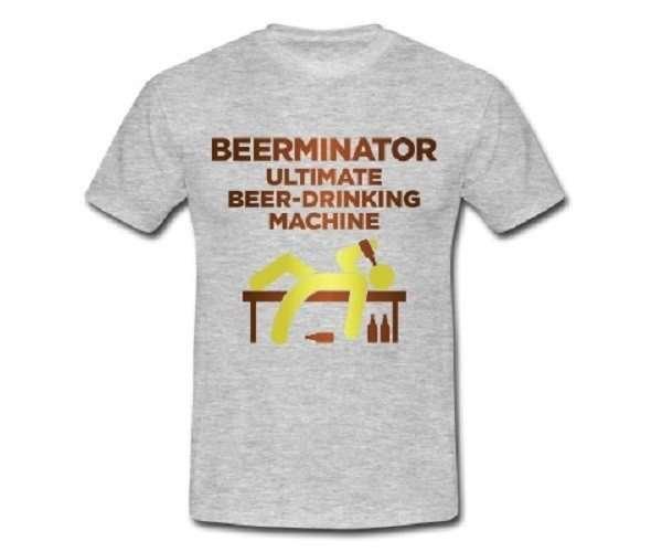 Magliette uomo - Beerminator