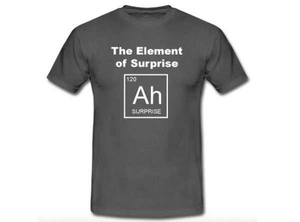 AH - Element of surprise