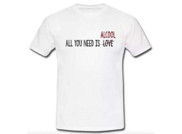 All you need is love - alcool