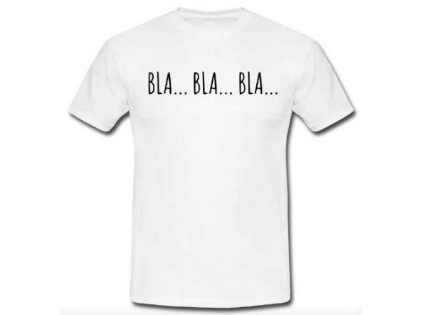 T shirt uomo - Bla bla bla