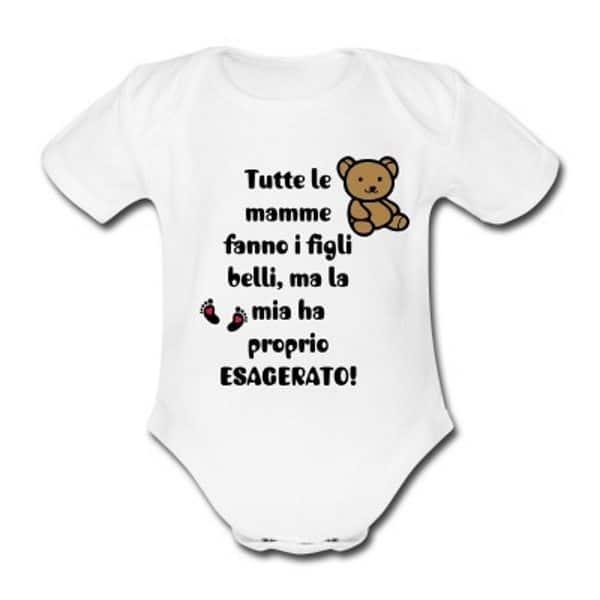 tuta neonato divertente e dolce