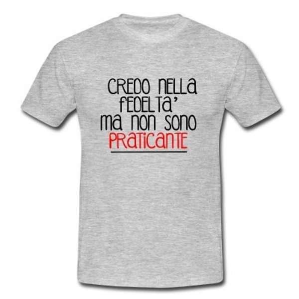 T-Shirt con frasi