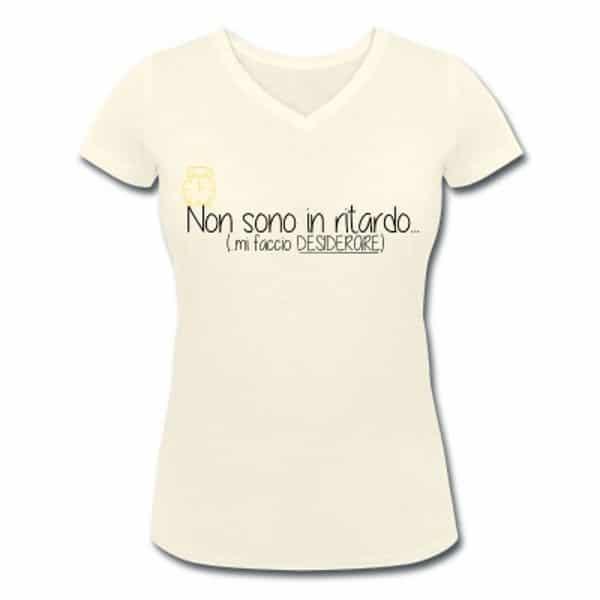 T-shirt donna frasi