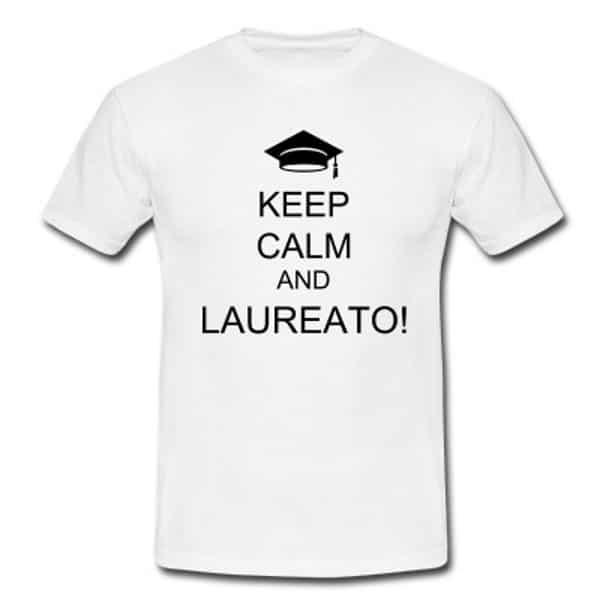 Magliette divertenti per laurea