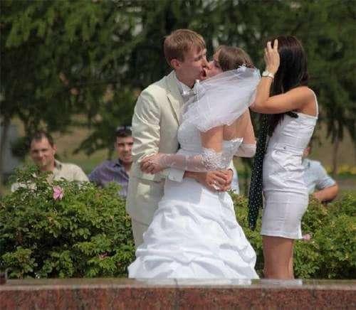 Immagini strani baci matrimonio